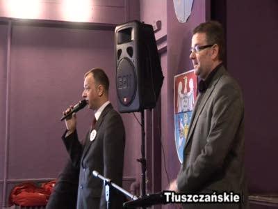 Film: Tłuszczańskie biesiady z książką: promocja książki Artura Andrusa