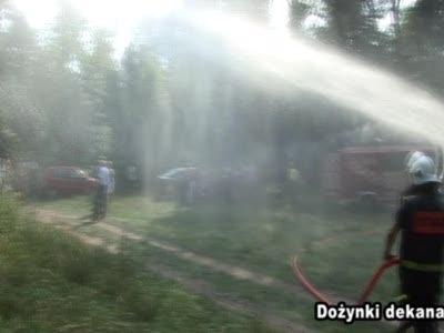 Dożynki dekanacko-gminne gm. Jadów – po pokazach strażackich