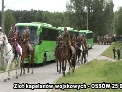 Zlot kapelanów wojskowych w Ossowie