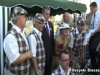 Dożynki diecezjalno-gminne w Tłuszczu
