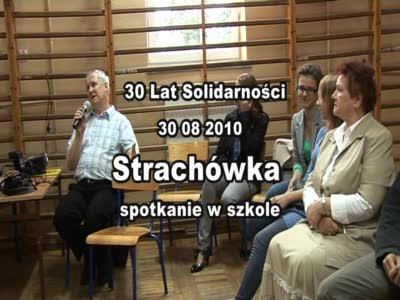 30 lat Solidarności – Strachówka – Spotkanie w szkole