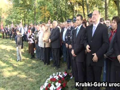 Krubki Górki – uroczystości ku czci mjr.Hubala